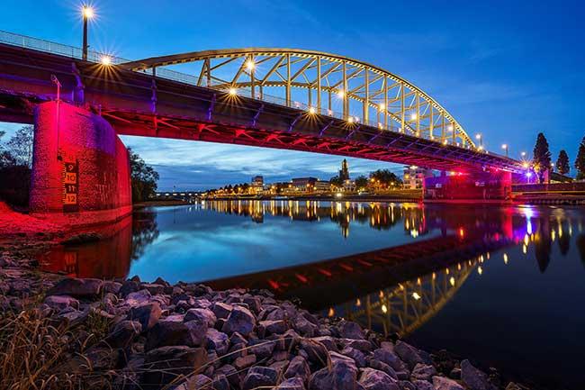 John Frost brdige - Arnhem, Netherlands