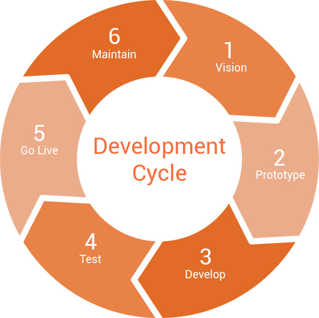 Website development cycle